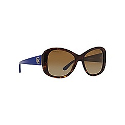 Ralph Lauren - Brown RL8144 butterfly sunglasses