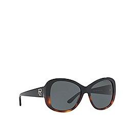 Ralph Lauren - Black RL8144 butterfly sunglasses