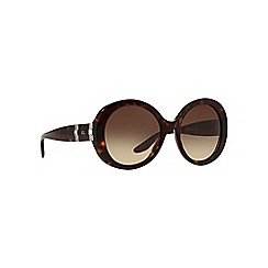 Ralph Lauren - Brown RL8145B round sunglasses