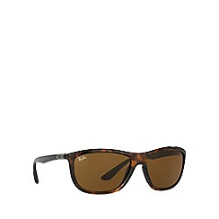 Ray-Ban - Shiny brown RB8351 square sunglasses