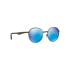 Ray-Ban - Grey RB3537 round sunglasses