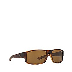 Arnette - Havana 'Boxcar' AN4224 rectangle sunglasses