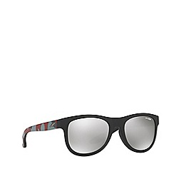 Arnette - Matte black 'Arnette' phantos class act sunglasses