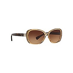 Coach - Light brown HC8172 rectangle sunglasses