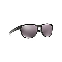 Oakley - Shiny black 'Sliver R' OO9342 rectangle sunglasses