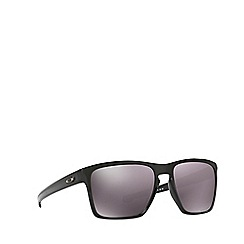 Oakley - Black 'Sliver Xl' OO9341 rectangle sunglasses