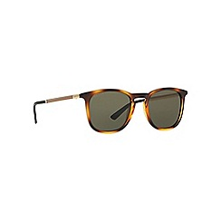 Gucci - Tortoise GG1130 round sunglasses
