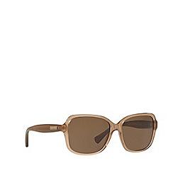 Ralph - Beige RA5216 butterfly sunglasses