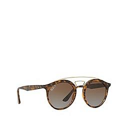 Ray-Ban - Havana RB4256 round sunglasses