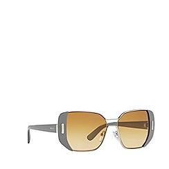 Prada - Grey PR59SS rectangle sunglasses