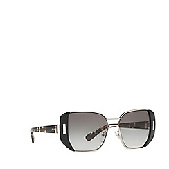 Prada - Black PR59SS rectangle sunglasses