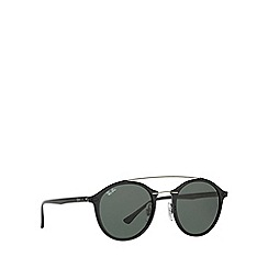 Ray-Ban - Black RB4266 round sunglasses