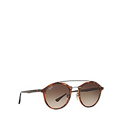 Ray-Ban - Brown RB4266 round sunglasses