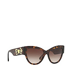 Versace - Havana VE4322 cat eye sunglasses