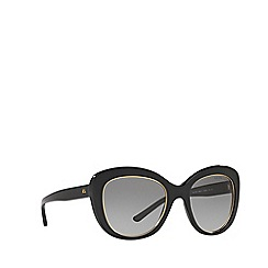 Ralph Lauren - Black RL8149 butterfly sunglasses