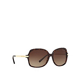 Michael Kors - Tortoise square frame 'Adrianna' sunglasses