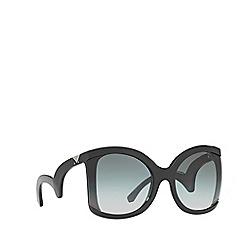 Emporio Armani - Black EA4083 butterfly sunglasses