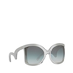 Emporio Armani - Grey EA4083 butterfly sunglasses