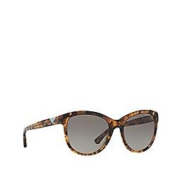 Emporio Armani - Grey round frame sunglasses