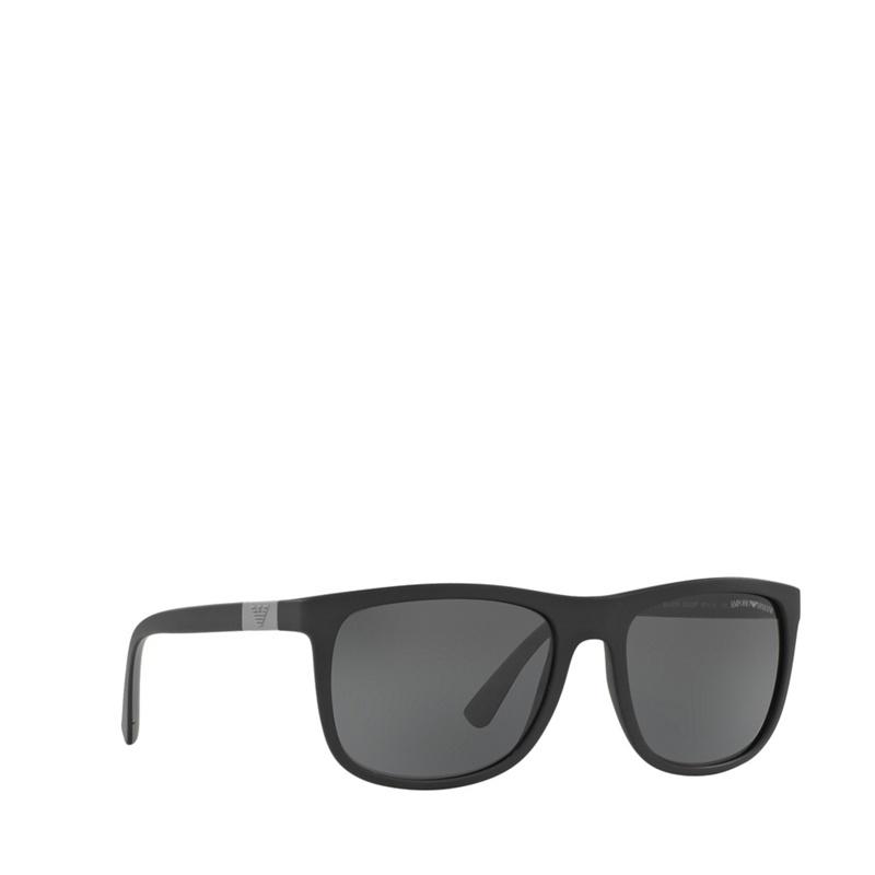 Emporio Armani - Matte Black Ea4079 Square Sunglasses - £108.00 ... 5be59d2312