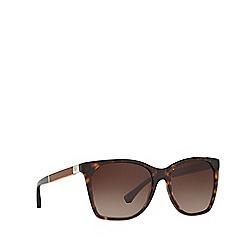 Emporio Armani - Havana EA4075 square sunglasses