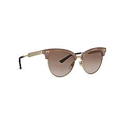 Gucci - Purple GG4283 irregular sunglasses
