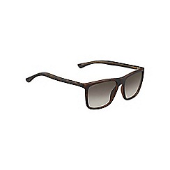Gucci - Tortoise GG1132 rectangle sunglasses