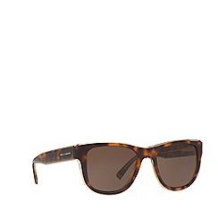 Dolce & Gabbana - Havana DG4284 square sunglasses