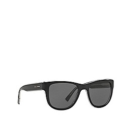 Dolce & Gabbana - Black DG4284 square sunglasses