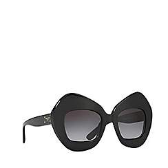 Dolce & Gabbana - Black DG4290 irregular sunglasses
