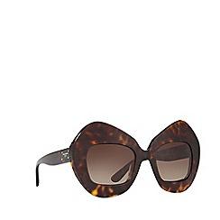 Dolce & Gabbana - Havana DG4290 irregular sunglasses