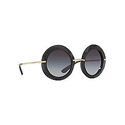 Dolce & Gabbana - Grey DG6105 round sunglasses