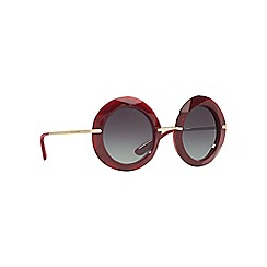 Dolce & Gabbana - Red DG6105 round sunglasses