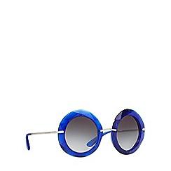 Dolce & Gabbana - Blue DG6105 round sunglasses