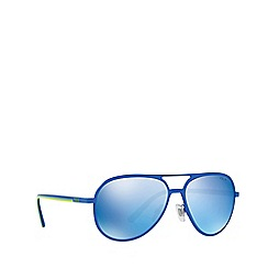 Ralph Lauren - Matte blue PH3102 pilot sunglasses