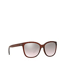 Polo Ralph Lauren - Matte brown PH4114 square sunglasses