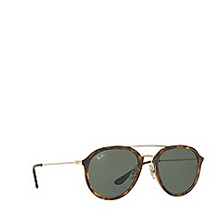 Ray-Ban - Havana RB4253 square sunglasses