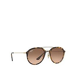 Ray-Ban - Havana RB4253 square sunglasses