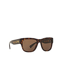 Versace - Brown VE4319 square sunglasses