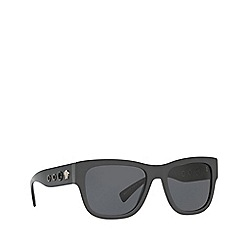 Versace - Grey VE4319 square sunglasses