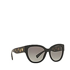 Versace - Black butterfly frame sunglasses