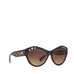 Versace - Havana VE4320 cat eye sunglasses