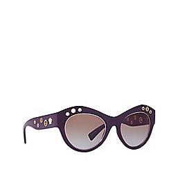 Versace - Violet cat eye frame sunglasses