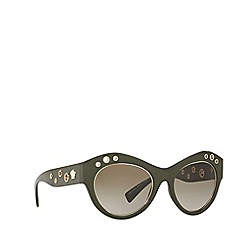Versace - Green VE4320 cat eye sunglasses