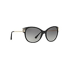 Versace - Black VE4316B cat eye sunglasses