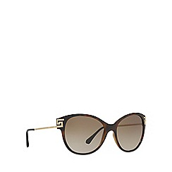 Versace - Brown VE4316B cat eye sunglasses
