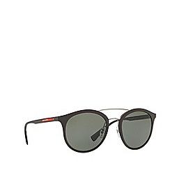 Prada Linea Rossa - Brown rubber phantos PS 04RS sunglasses