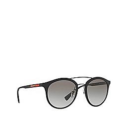 Prada Linea Rossa - Black rubber phantos PS 04RS sunglasses