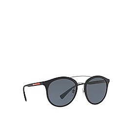 Prada Linea Rossa - Black PS 04RS phantos sunglasses