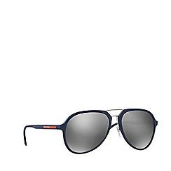 Prada Linea Rossa - Grey rubber pilot PS 05RS sunglasses